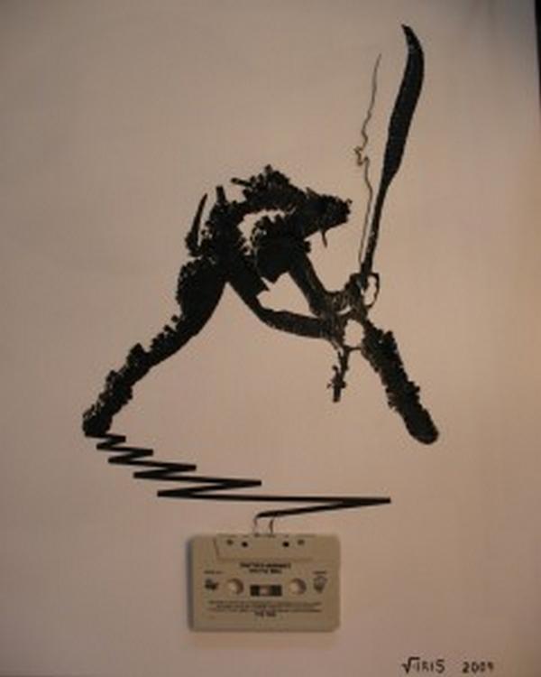 Clash Autors: Rockforgoodtimes Apbrīnojamā kasešu māksla
