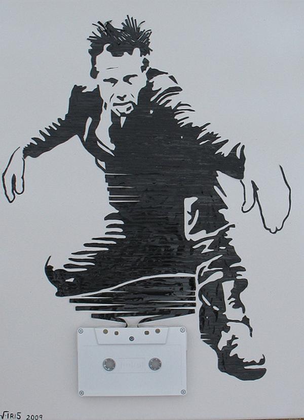 Toms Vaits Autors: Rockforgoodtimes Apbrīnojamā kasešu māksla