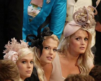 Autors: edzyo Karalisko kāzu interesantākās cepures!