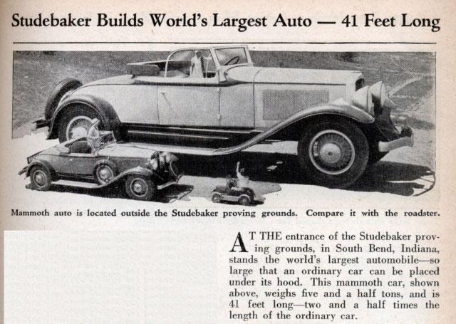 Autors: arvīds 40 Pats lielākais auto!