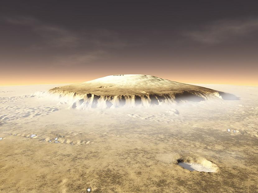 Uz Marsa atrodas augstākais... Autors: Reversedfate Interesanti fakti par Marsu