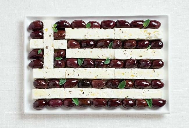 Grieķija Autors: CoffeeQueen Valsts karogs no ēdiena