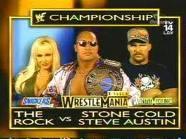 The Rock vs Stone Cold Steve... Autors: GreatLauris The Rock