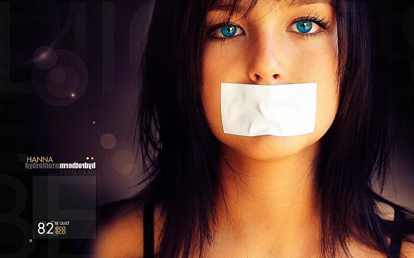 Klusums  nekas nav pateiks... Autors: Pulis - fuc* ya, bitch`.