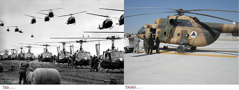 Helikopteri Autors: pofig Armija - Tad un tagad.