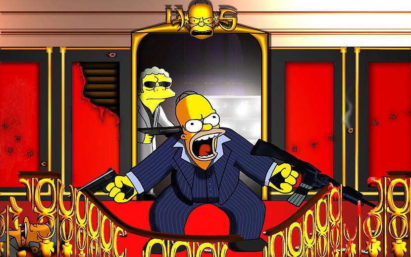 Homērs jau no agras bērnības... Autors: abols1 Homer Simpson.