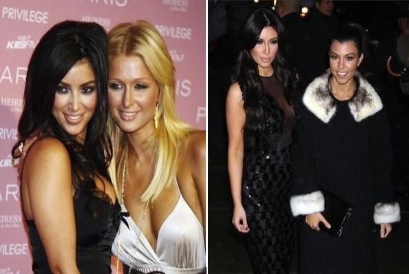 Kim Kardashian Autors: bee62 Reality TV Stars Then and Now