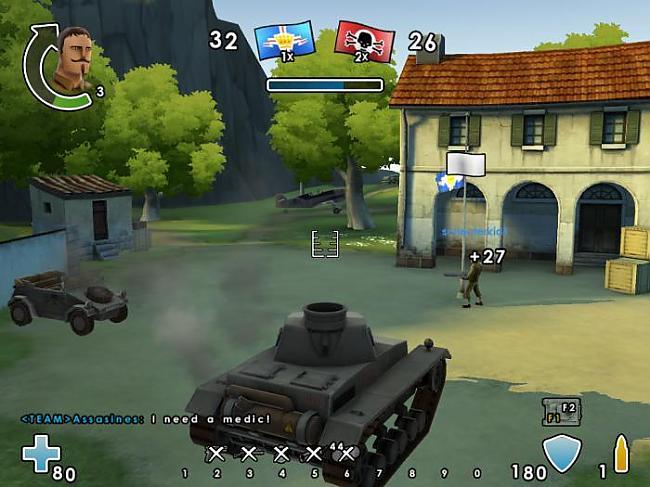 arī iekšā spēle bet ar tanku Autors: planeta Battlefield Heroes