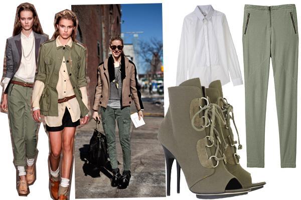 klasisks militārais stils... Autors: millers Military fashion