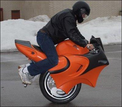 Unocikls Autors: FOXERISs Jocīgie motocikli