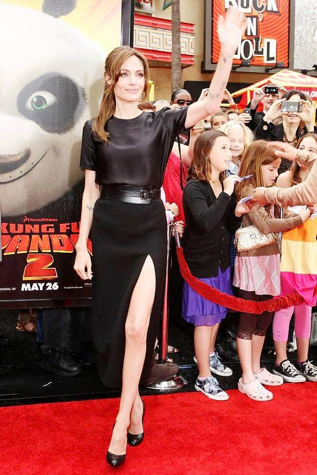 Autors: MJ Andželīna&Breds ''Kung fu Panda 2''