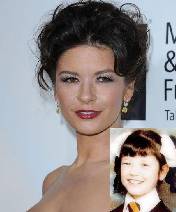 Catherine Zeta Jones Autors: Nabadzīgais ST Seksīgākās aktrises bērnībā