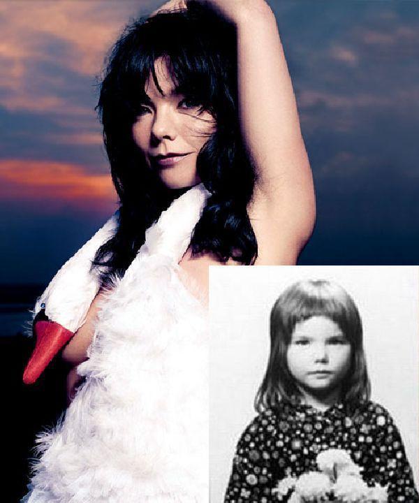 Bjork Autors: Nabadzīgais ST Seksīgākās aktrises bērnībā