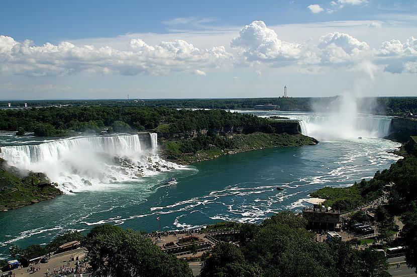 Niagāras ūdenskritums Kanāda... Autors: Richards9 Pasaules skaistākās vietas