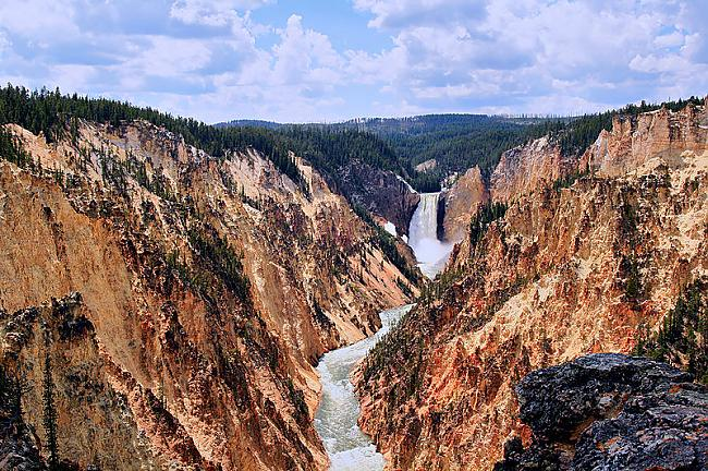 Yellowstone nacionālais parks... Autors: Richards9 Pasaules skaistākās vietas