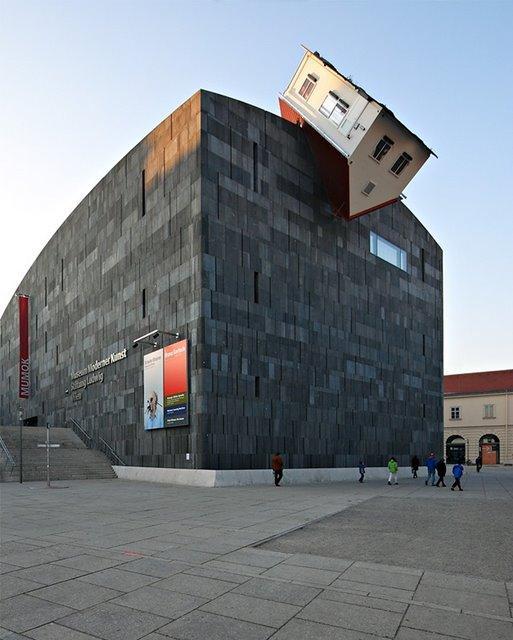 Ervīns Vurms Māju uzbrukums ... Autors: battery Interesantākās ēkas pasaulē.