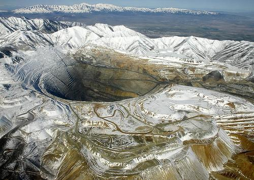 Bingham Canyon Mine  Utah Autors: IAMsoLAME lielakie caurumi zeme