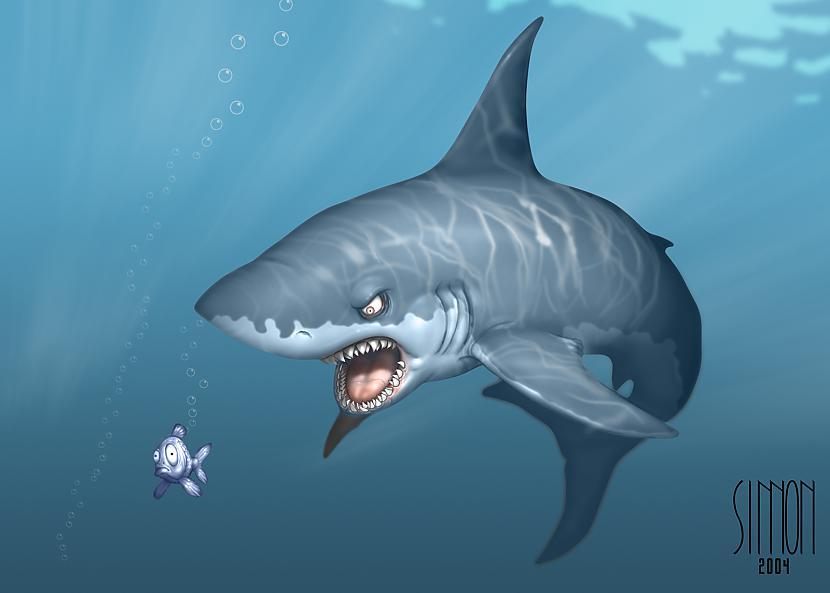 Ir haizivju suga kurai tārpi... Autors: ML Neticami, bet fakts - 7. Beigas.