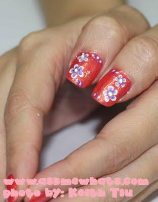 Autors: cdykgc uklgci Flowers Nails Designs