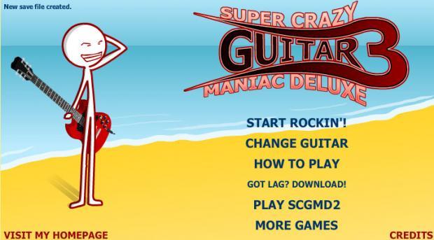 Super Crazy Guitar Maniac 3 gt... Autors: surfix Forsas flash speles...