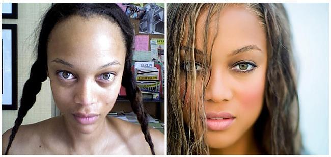 Tyra Banks topmodele Autors: SunnyTalesJ Ar un bez make-up