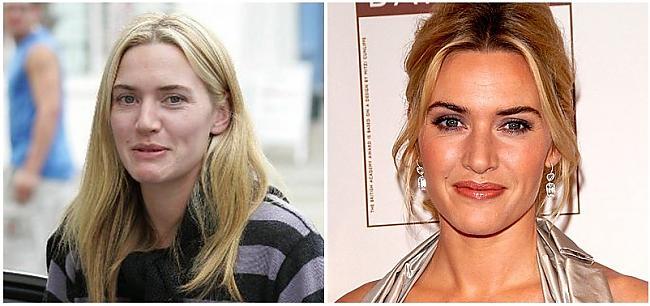 Kate Winslet aktrise Autors: SunnyTalesJ Ar un bez make-up