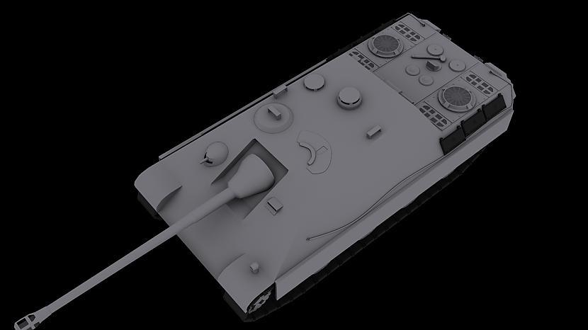Jagdpanther 139k poligoni Autors: godie Mani 3D modeļi.