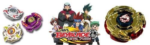Vecie un Jaunie Beibleidi Autors: NUCKAL Beyblade Metal Fusion beibleidi!!!