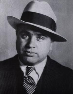 Al Capone biznesa vizītkartē... Autors: TripleH Ļoti interesanti fakti! 2