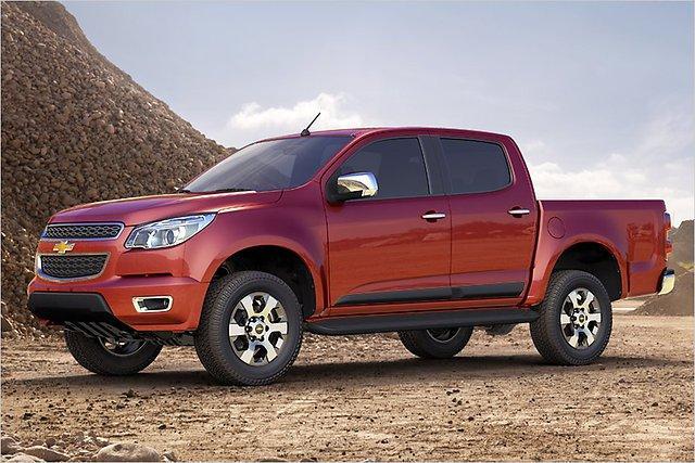 Jaunais Colorado ir radīts... Autors: HHRonis Chevrolet prezentē jauno pikapu Colorado.