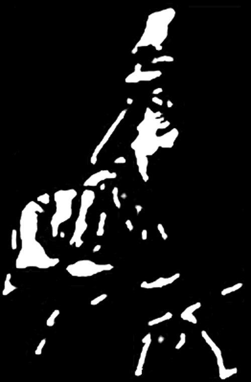 Vīrietis ar pie sejas pieliktu... Autors: Fosilija Ko redz tavas acis?