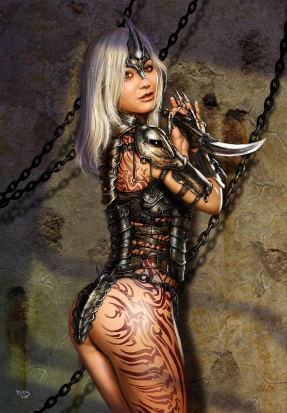 Autors: Dark Evil Knight Seksīgās kareives