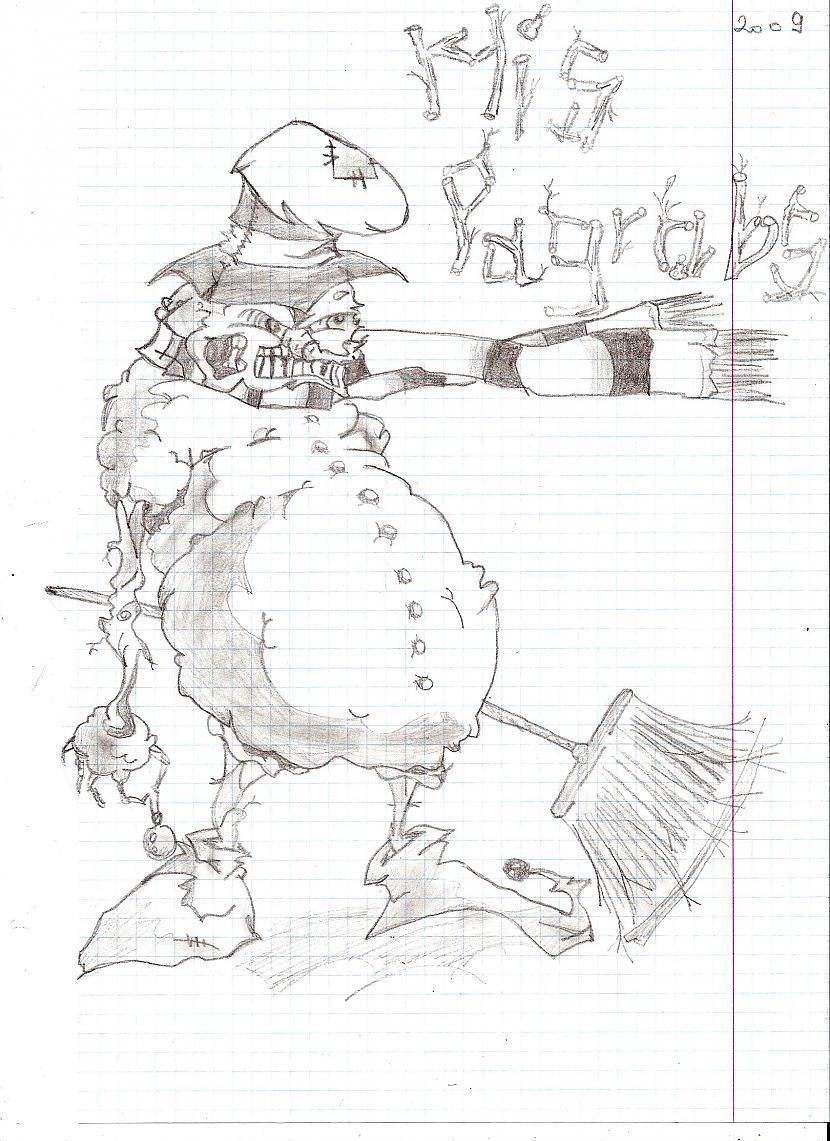Arī šī ideja nepieder man bet... Autors: MisPagrabs Mani zīmējumi... daži...