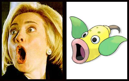 Hillary Clinton  Weepinbell Autors: PEDOLĀCIS zvaigznes kas izskastās  ka pokemoni