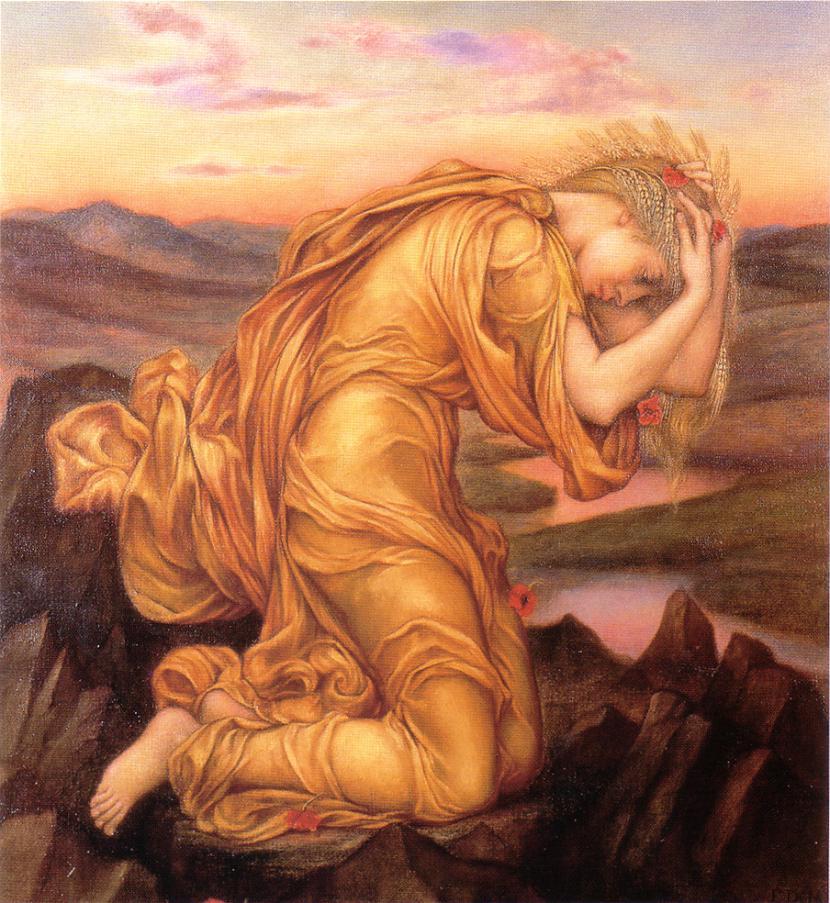 DēmetraDēmetra ir... Autors: wyatt Olimpa dievi.