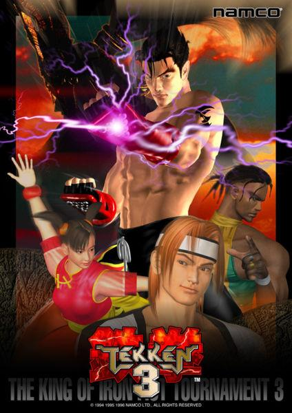 Tekken 3 Autors: aramba1 Tekken 3 spēle uz PC