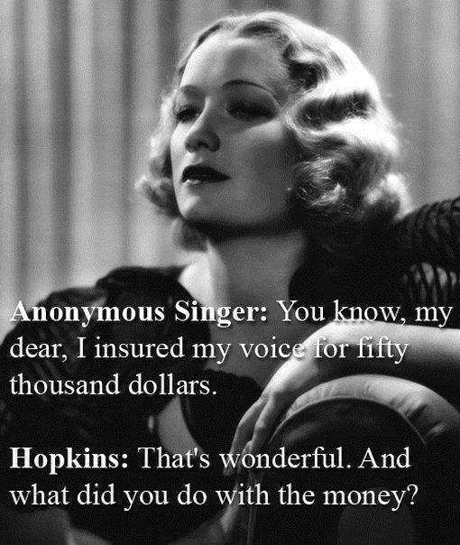 Mirjama Hopkinsa slavena... Autors: errormaker Kā būt asprātīgam...