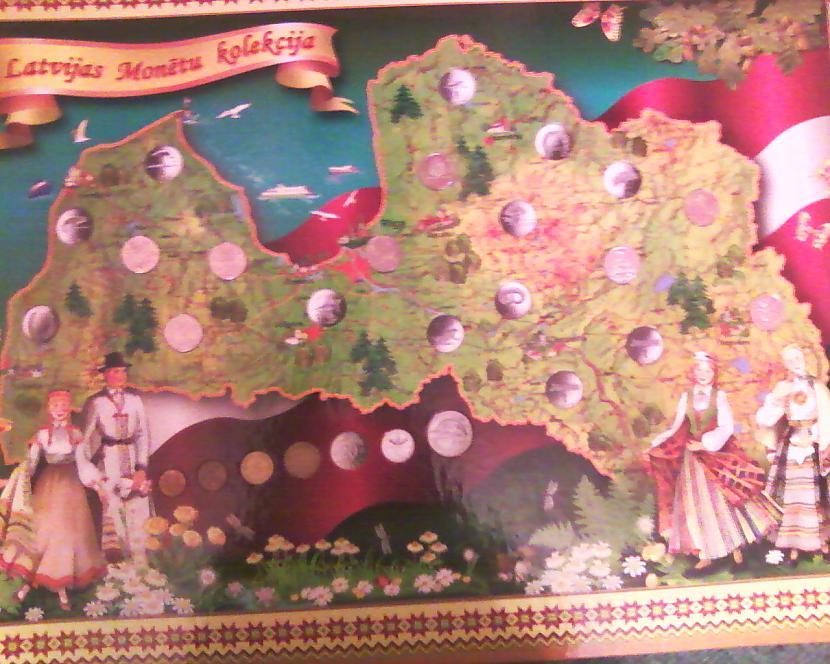 Mans monētu plakāts Autors: NUCKAL Mana LV 1latnieku kolekcija!!!