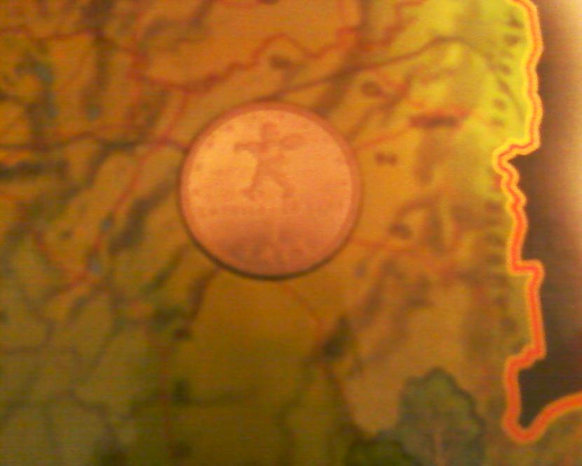 Sprīdīša monēta viena no manām... Autors: NUCKAL Mana LV 1latnieku kolekcija!!!