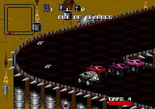 Spēlē tu vari izvēlēties kas... Autors: Haroks Rock n Roll Racing 3D
