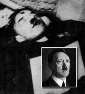 Populārākā versija par Trešā... Autors: afrobmw A. Hitlers tomēr neizdarija pašnāvību!?