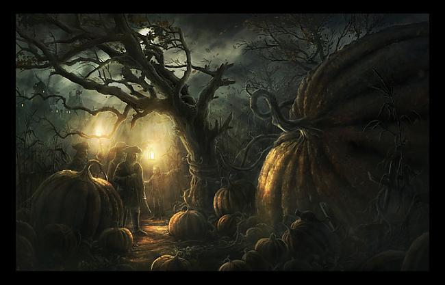 Krupji man azotē pār plecu... Autors: zaabaks3 Visu svēto nakts mistērija tuvojas