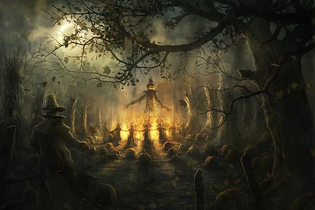 Īsa scaronī naksniņa gulēt nav... Autors: zaabaks3 Visu svēto nakts mistērija tuvojas