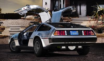 Autors: Ritvariņš Atpakaļ nākotnē: Elektriskais DeLoreāns Iznāks 2013.