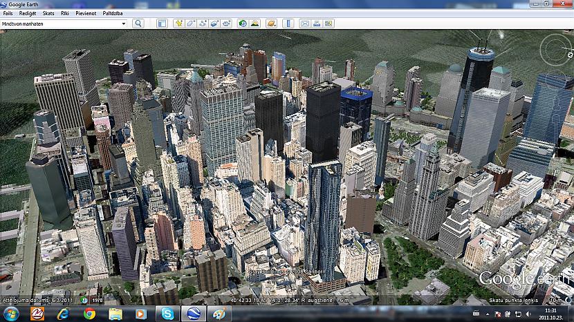 Autors: Amerikas Patriots My New York In GoogleEarth.