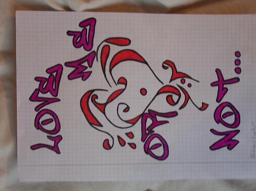 Love me or not Autors: Gerkhan Zīmējumi