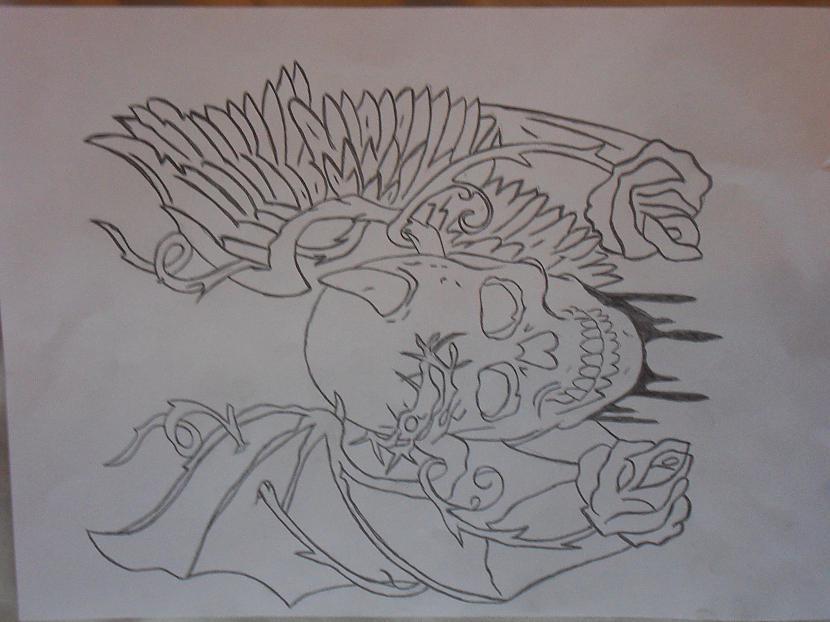 Miroņgalva Autors: Gerkhan Zīmējumi