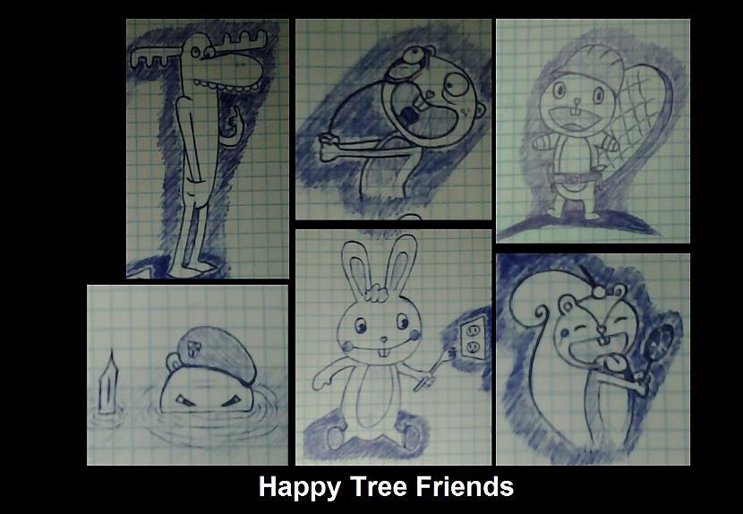 Happy Tree Friends collection Autors: Sokjis RTU lekcijas + vaļasprieks ^^ (2. daļa)