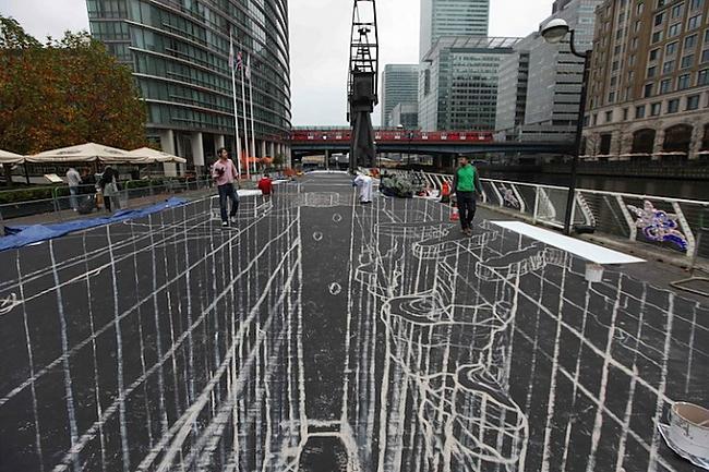 Rekords tapšanas stadijā Autors: Administrācija 3D mākslas darbi uz ielas