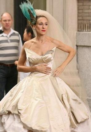 Nez vai Sāra Džesika Pārkere... Autors: Sofīte 10 pasaules bezgaumīgākās kāzu kleitas